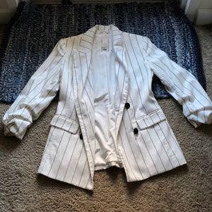 Jackets & Blazers - Pinstripe Women's Blazer